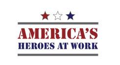 America's Heroes at Work logo