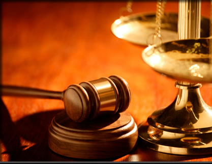 Image of a gavel and the scales of justice