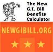 new GI BILL CALCULATOR