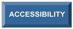 Image of a button with the text accessibility white on blue.