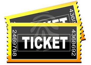 Image of two ticket stubs.