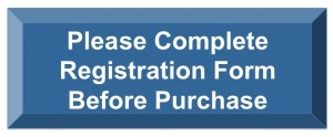 Please complete registration form before purchase text on a blue button.