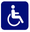 Image of universal wheelchair symbol