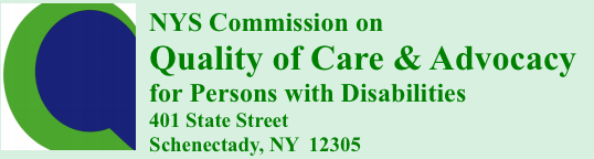Image of NYS Commission on Quality Care and Advocacy for Persons with Disabilities logo
