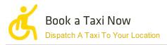 Book a Taxi now Icon.