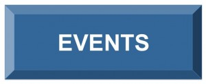 Image of a button with the text events white on blue.